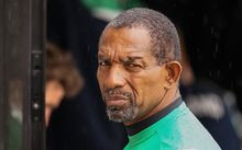 Phil Simmons, while coaching Ireland at the Cricket World Cup, 2015.