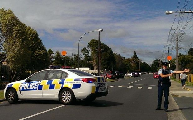 Albany Primary School, on Bass Road, is among schools in lockdown after this morning's incident in Auckland.