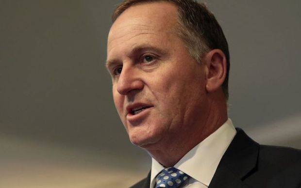 John Key in Wellington in November 2014.