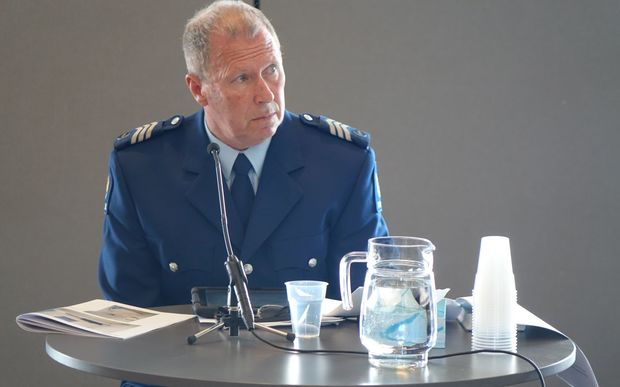 Sergeant Trevor Thomson appeared at the coroner's inquest in Dunedin.
