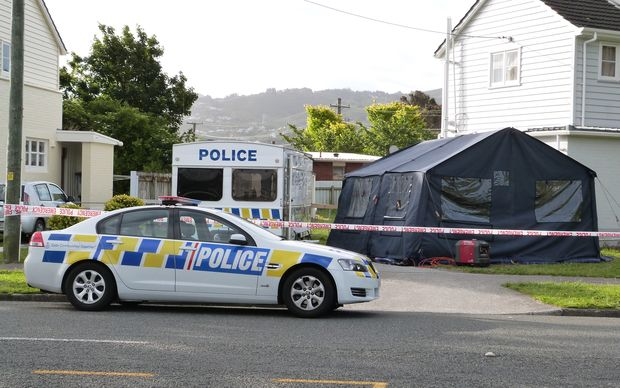 Police have cordoned off a property in Oxford Terrace in Lower Hutt as part of their investigation.