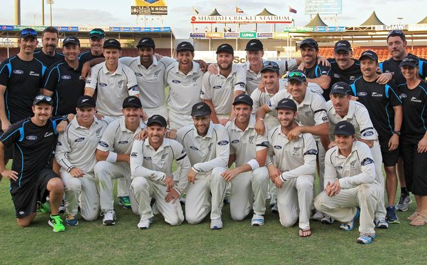 The Black Caps win over Pakistan in Sharjah is just the third time they've beaten the hosts in a test outside of New Zealand.
