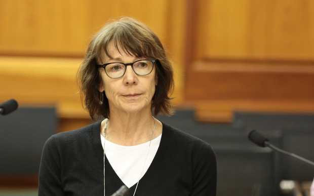 Inspector-General of Intelligence and Security Cheryl Gwyn appears before the select committee.