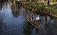 punting on the Avon River