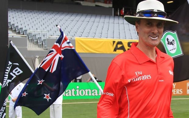 NZ Cricket umpire Billy Bowden