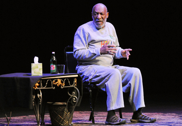 Bill Cosby performing in Florida last month.