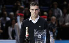 Roberto Bautista Agut won the ATP most improved player award in 2014