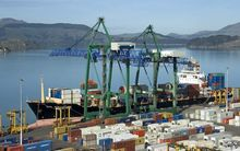All or part of the Port at Lyttelton could be sold.