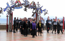 Ancestral remains have been returned to Aotearoa, with a ceremony held today at Te Papa's marae