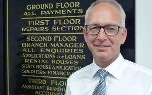 Housing New Zealand chief executive Glen Sowry