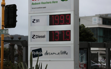 Petrol prices. Z energy