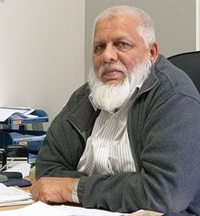 Lawyer, Umaji Mohammed, a member Auckland Council of Muslims