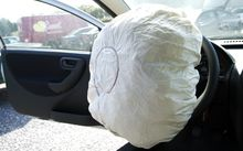 At least 14 million cars worldwide may be affected by the faulty airbags (not pictured).