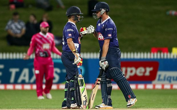 Carl Cachopa and Colin Munro put on a match-winning partnership