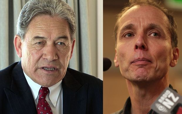 Winston Peters and Nicky Hager 16:10
