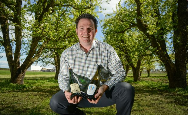 Paul Paynter says the secret to the best cider is the quality of the fruit.
