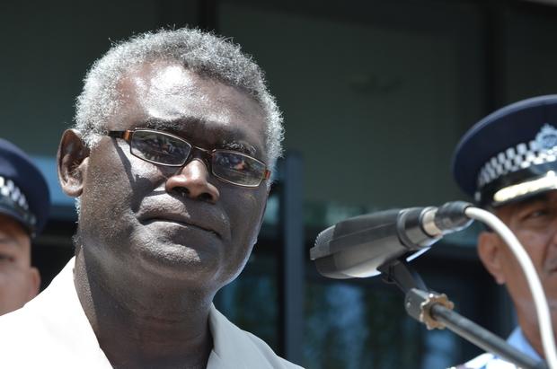 Solomon Islands Prime Minister, Manasseh Sogavare