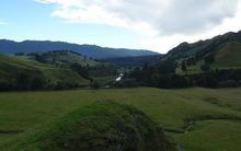 The proposed Ruataniwha Dam would be built on this site in Hawke's Bay.