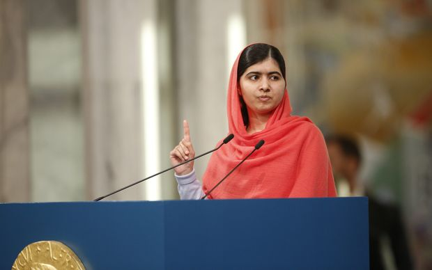 Malala Yousafzai has become the youngest Nobel laureate.
