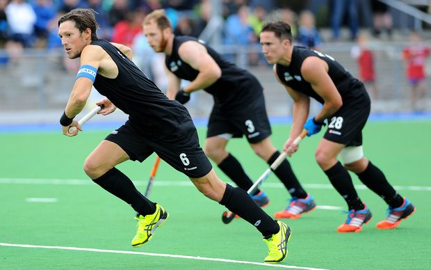 Black Sticks on the charge led by captain Simon Child