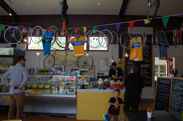 Bikeconimics feature. Tandem Café