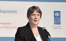 United Nations Development Programme (UNDP) Administrator Helen Clark