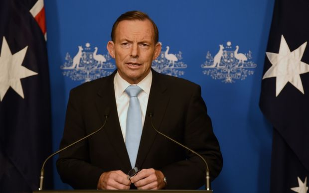 "Australian Prime Minister Tony Abbott said it was an ""appalling incident"" and the deaths were tragic beyond words."