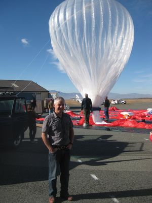Climate scientist Greg Bodeker is using Google's Loon balloons to study what goes on in the stratosphere.