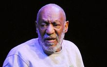 Bill Cosby performing in Melbourne last month.