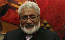 Maanu Paul, a representative for claimants at the Military Veterans Kaupapa Inquiry (Wai 2500).