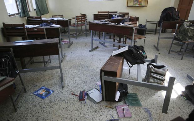 The massacre left 132 students and nine teachers dead.