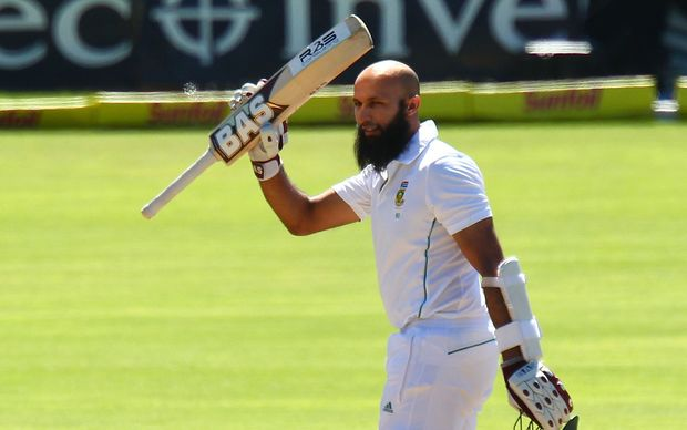 South African cricketer Hashim Amla
