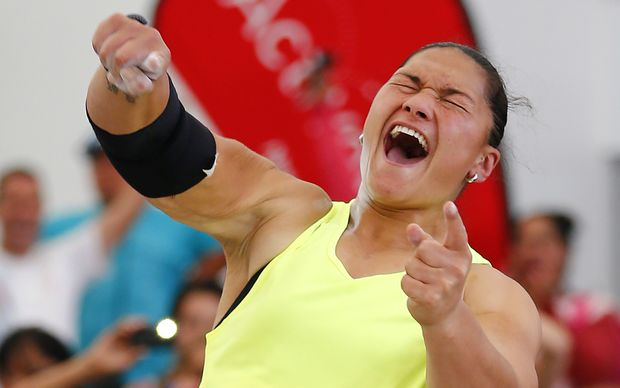 Shot put star Valerie Adams