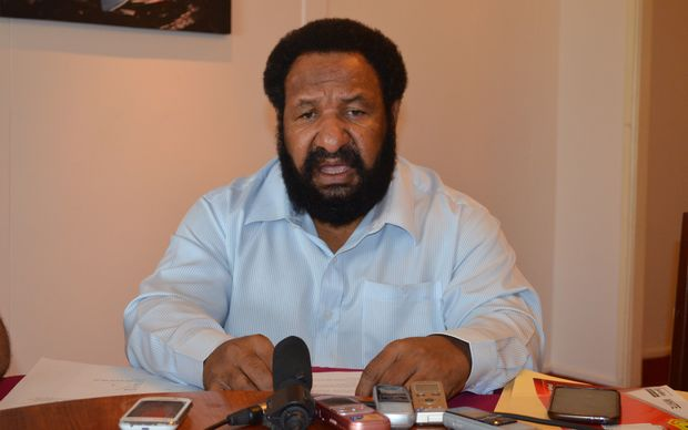 Papua New Guinea Opposition Leader, Don Polye