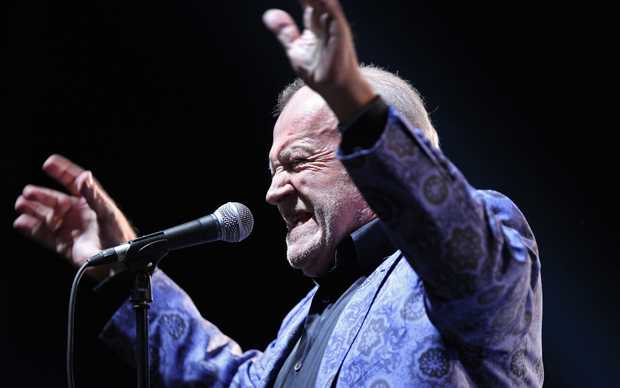 British blues and rock singer Joe Cocker.