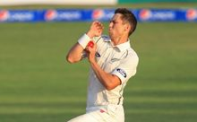 The New Zealand bowler Trent Boult.