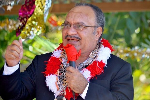Papua New Guinea's Prime Minister, Peter O'Neill.