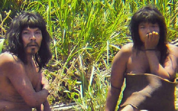 It is thought the Mashco-Piro tribe had not been spotted by outsiders before August 2011