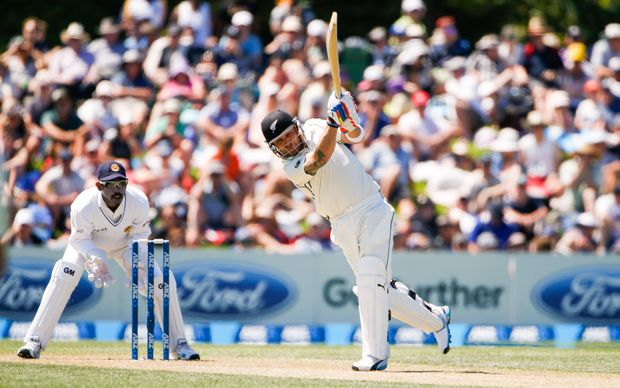 Brendon McCullum in fine form with the bat