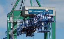 Lyttelton Port container terminal was forced to shut down overnight by industrial action.
