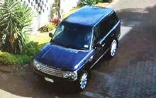Police want to hear from anyone who may have seen this dark blue Range Rover between 8am and midday today.