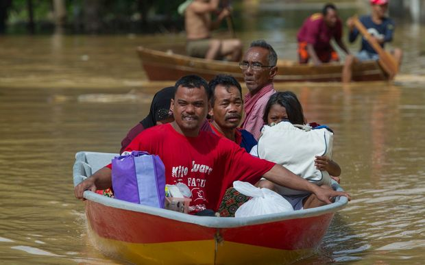 Malaysia has been hit with the worst flooding since 2004.