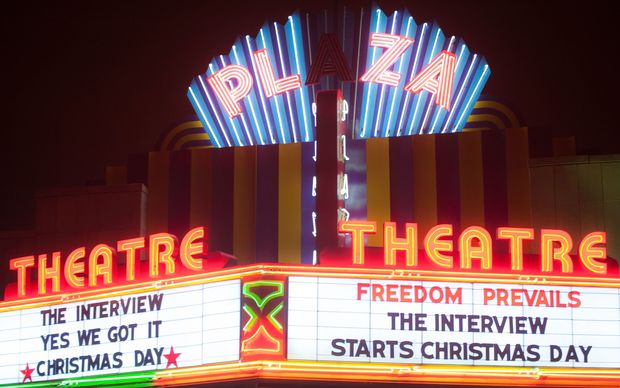 The Interview opened in some US cinemas on Christmas Day.