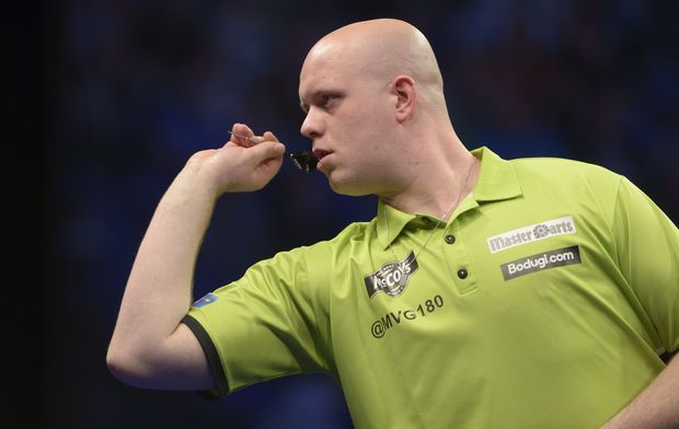 World Darts champion Michael van Gerwen.