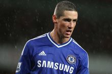 Spain forward Fernando Torres struggled for goals during his time with Chelsea.