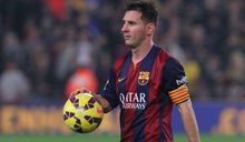Barcelona forward Lionel Messi.