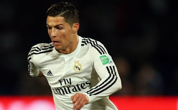 Real Madrid forward Cristiano Ronaldo (7).