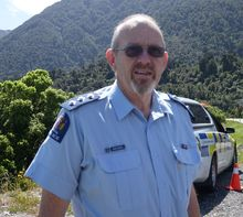 West Coast Area Commander Inspector John Canning.