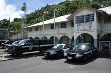 American Samoa police headquarters