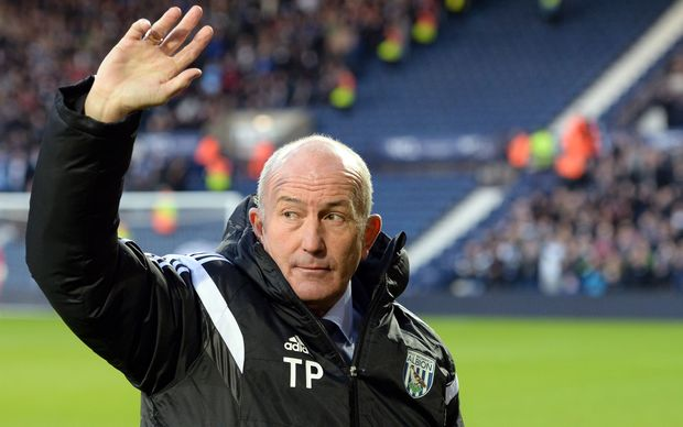 West Bromwich Albion's new manager Tony Pulis.